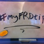 #myFRDtip
