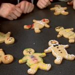 gingerbread men decorated