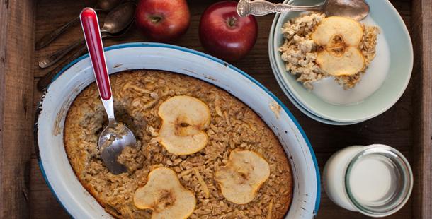 Breakfast Oatmeal Apple Pie Jamie Oliver