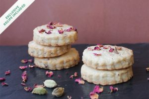 Nankhatai: Indian shortbread cookies