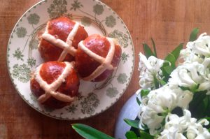 Hot cross buns: a history