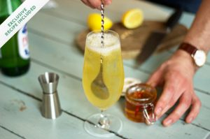 Step-by-step: the Oliver's Twist cocktail