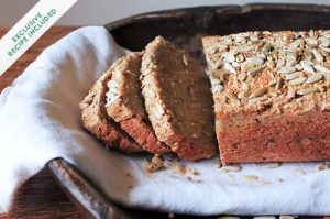 Alternative baking: Quinoa & sunflower seed bread