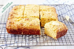 My first recipe: RoRo's cornbread
