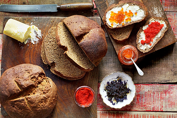 German bread: a 'rye' look