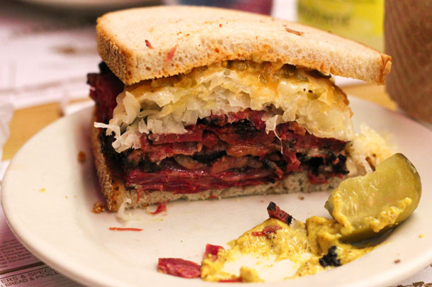 USA the Reuben sandwich