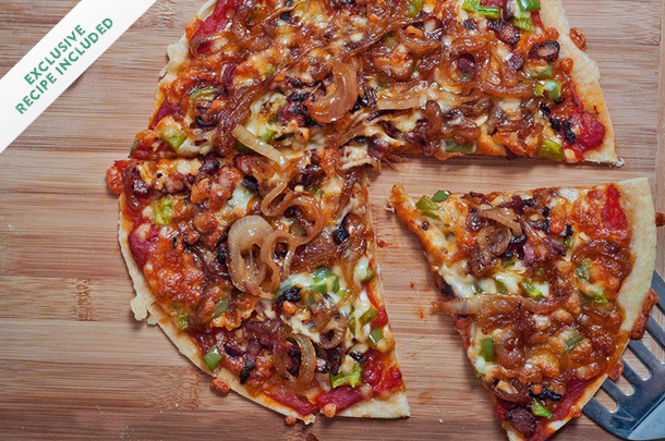 Canada Day recipe: Beer-caramelized onion & bacon pizza