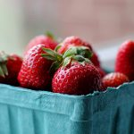 Pick your own fruit recipes - a punnet of strawberries