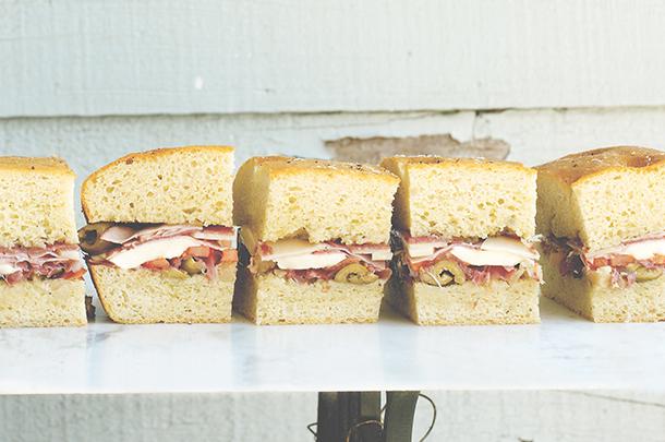 Sturdy sandwiches & picnic breads
