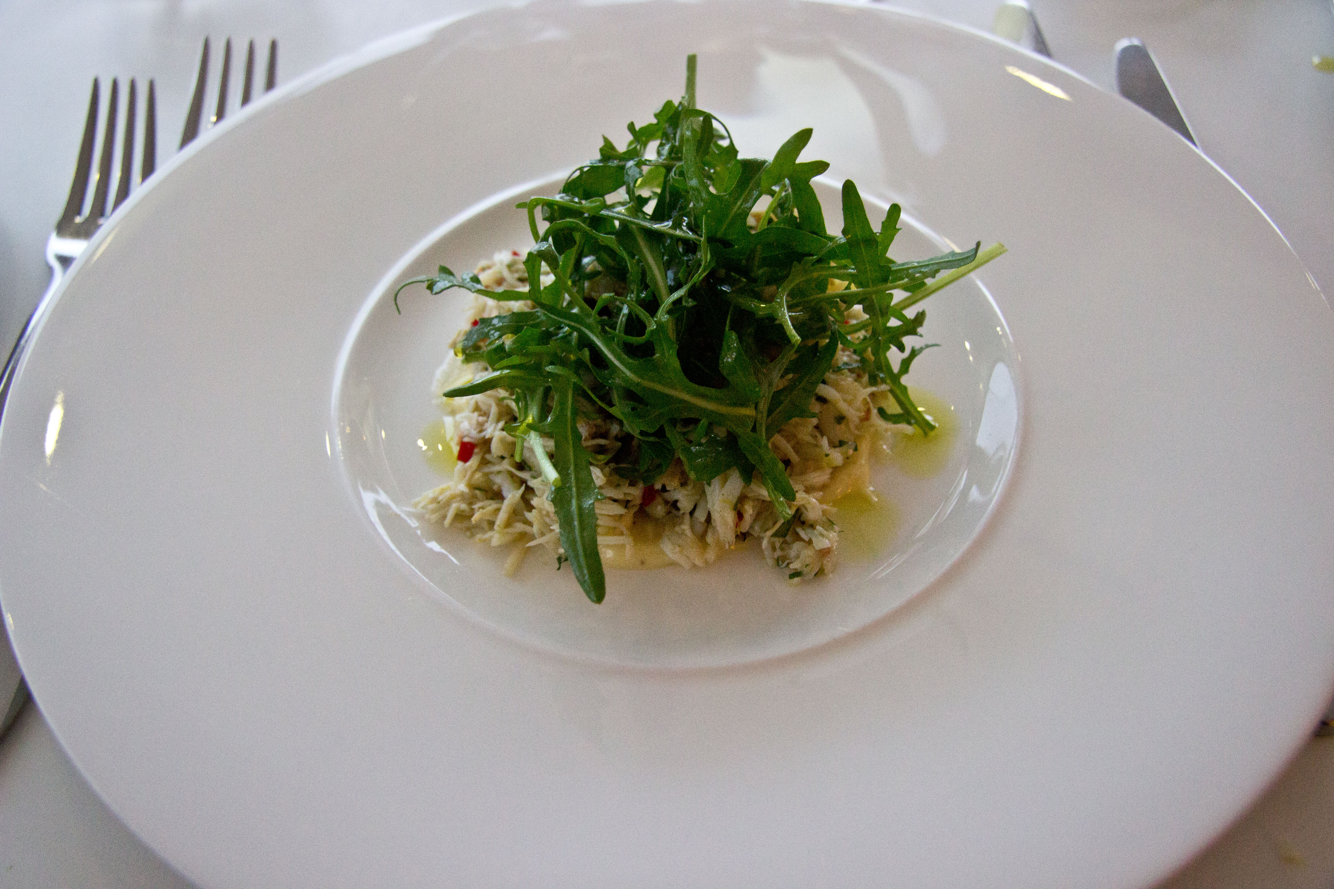fifteen cornwall menu crab risotto