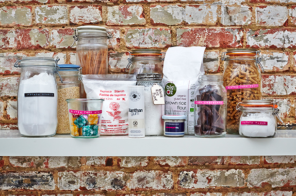 12 essentials for the gluten-free pantry