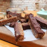 no-bake vegan bars