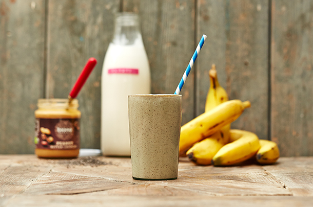 The perfect homemade protein shake