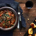meat stew with veg and potatoes