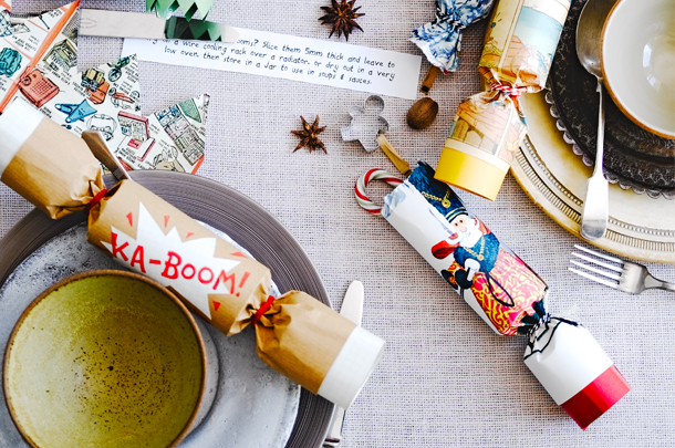 Christmas Crackers Diy.How To Make Homemade Christmas Crackers Features Jamie