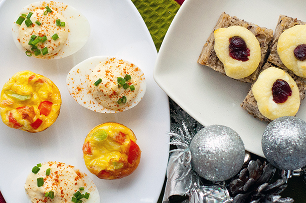 Vegetarian hors d'oeuvres for parties