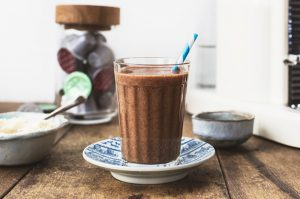 A bold & beautiful coffee smoothie