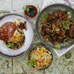 slow cooked meat recipes for stew and burgers with veg