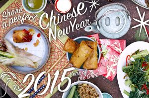 Fantastic food for Chinese New Year