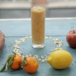 workout smoothie with veg and fruit