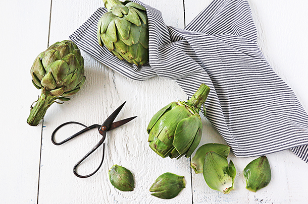 How to use artichoke