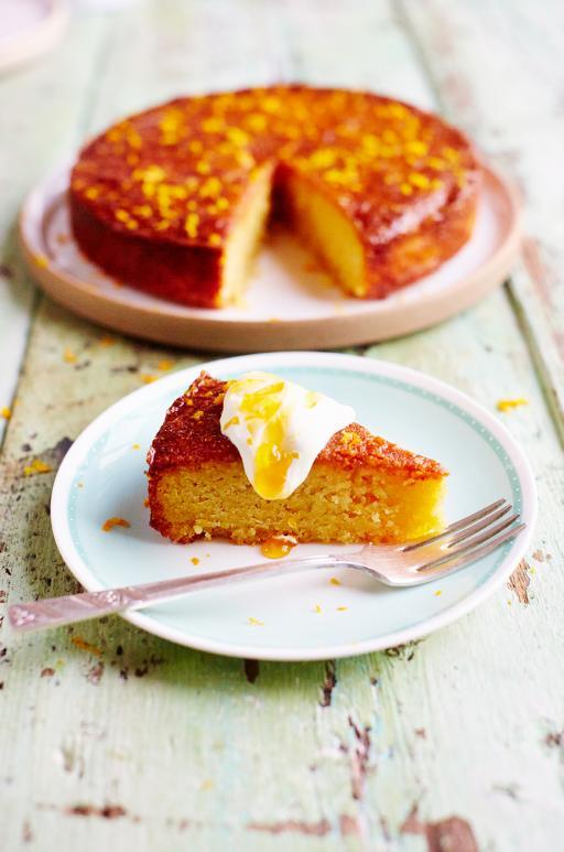 Jamie Oliver Orange Polenta Cake Recipe