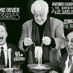 Italian issue magazine with Jamie Oliver, Antonio Caluccio and Gennaro Contaldo