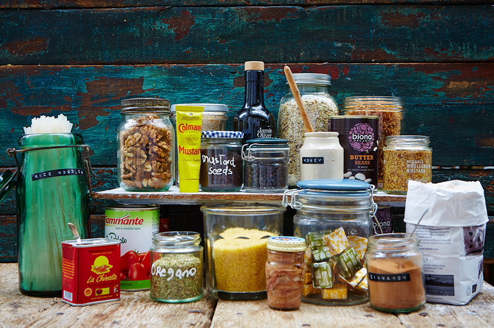 Store-cupboard essentials for families