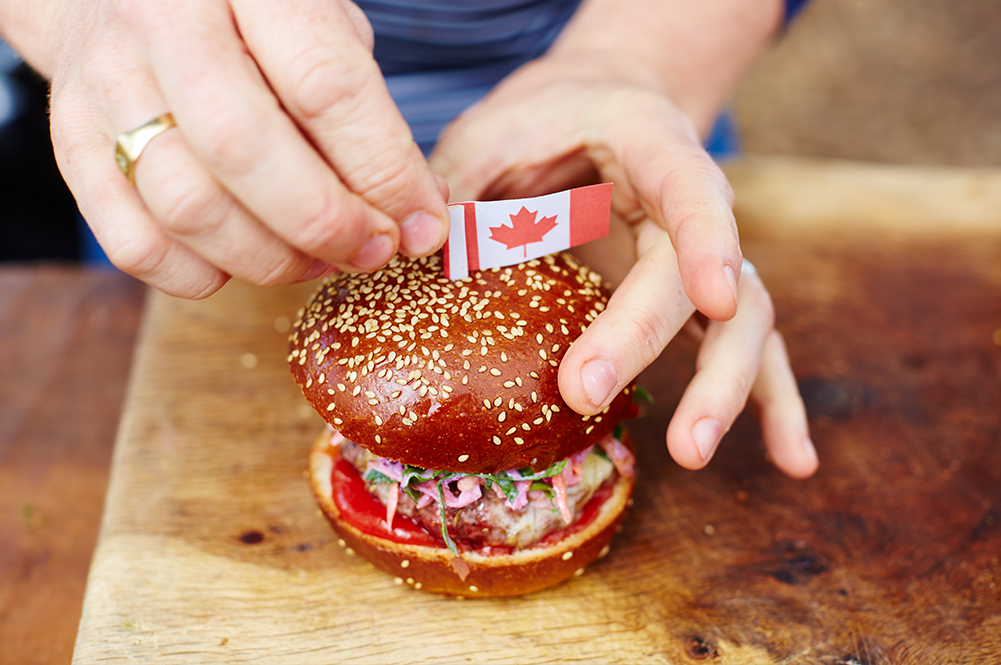Canada Day Food Recipes