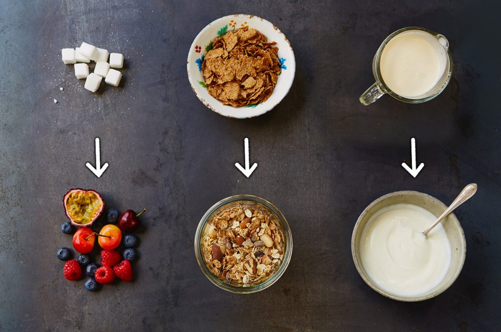 Ingredient swaps for a healthier you