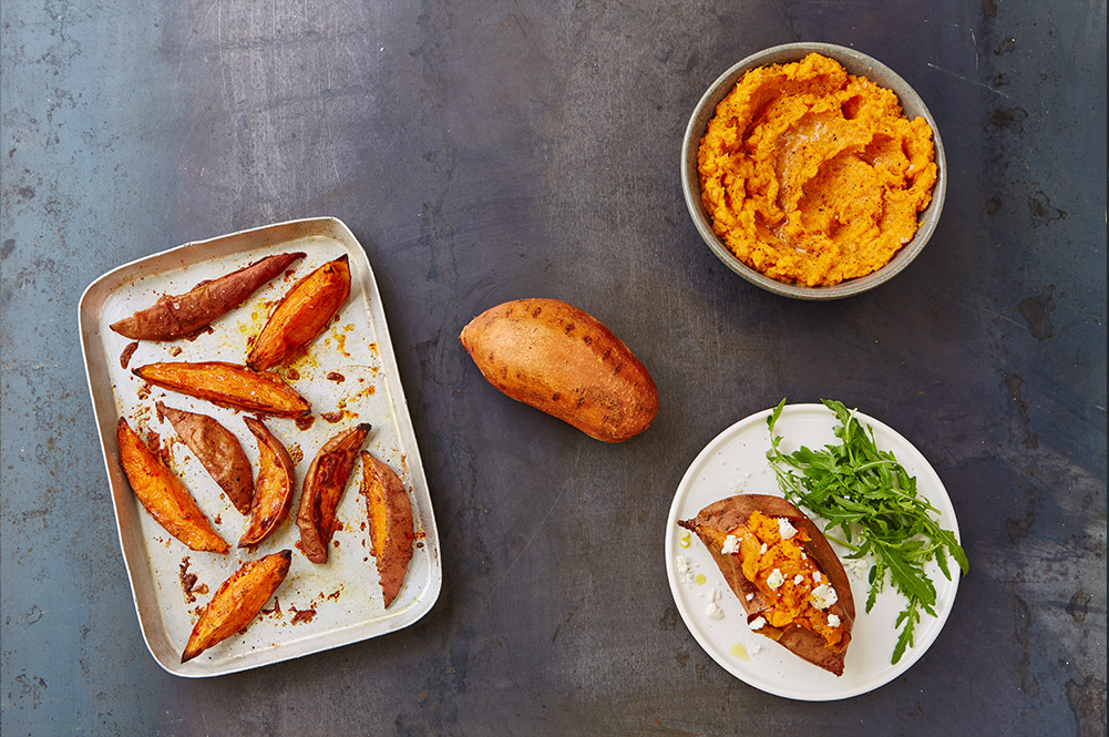 Jamies everyday super food recipes jamie oliver why sweet potato is healthy forumfinder Image collections