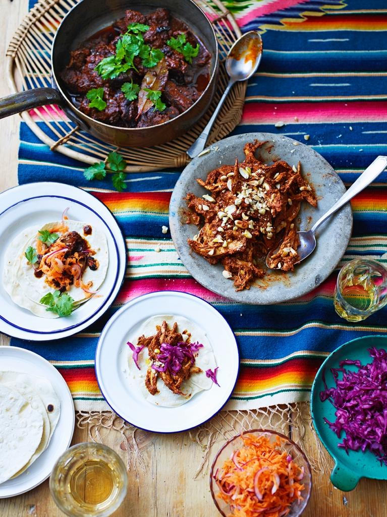 Chicken Mole Chicken Recipes Jamie Oliver Recipe