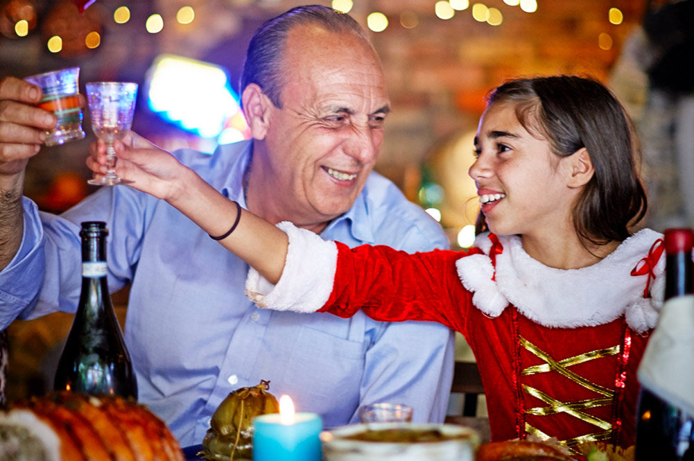 gennaro contaldo at christmas with family