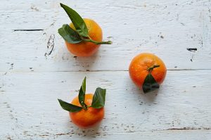 It's all about clementines at Christmas