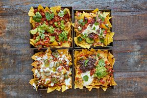 Epic nachos, four ways