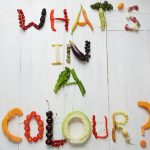 whats in a colour? written in fruit and veg
