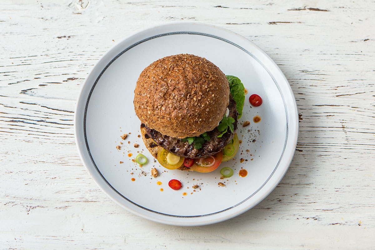 Woolworths Mexican Style Beef Burger Features Jamie Oliver