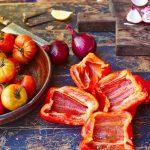 ratatouille vegetable preparation