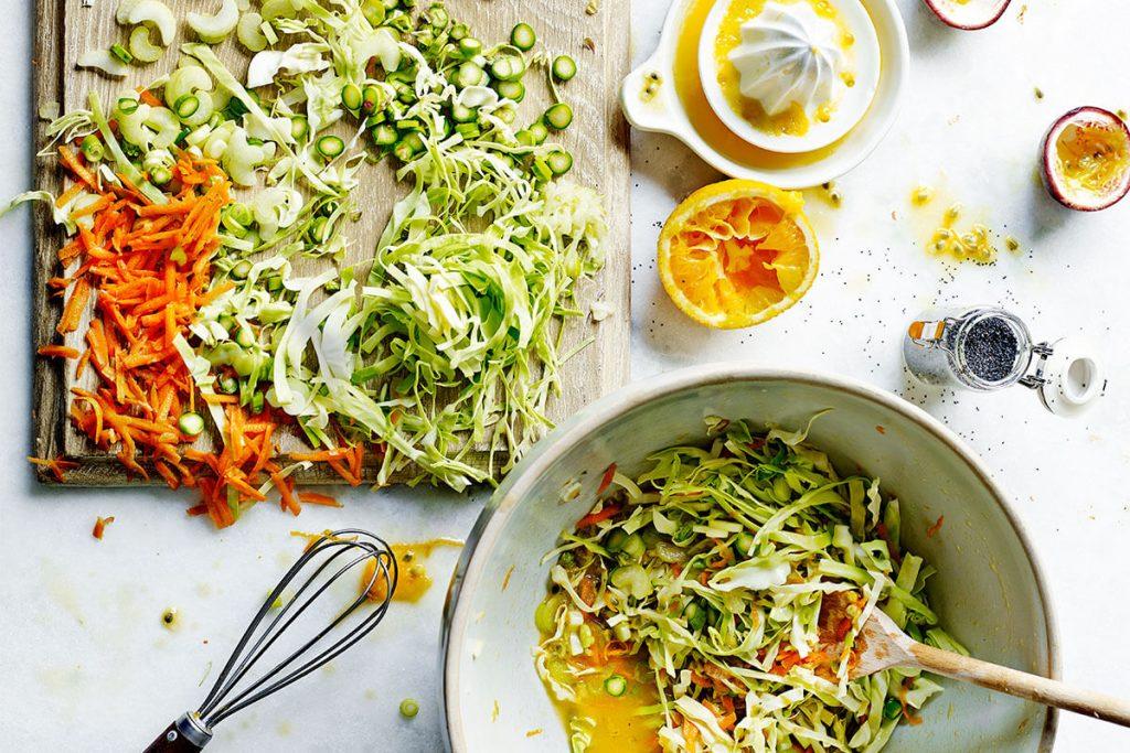 vegan recipes for homemade sweet heart slaw