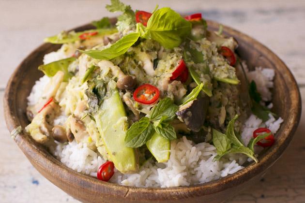 thai green curry chicken recipes