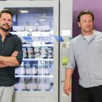 jimmy and jamie by a vending machine