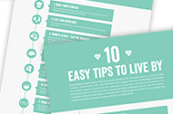10 Healthy Tips to Live By