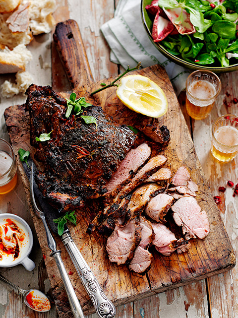 Barbecue lamb
