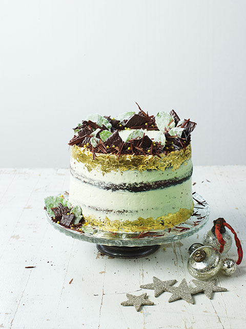 Jamie Oliver Chocolate Mint Cake