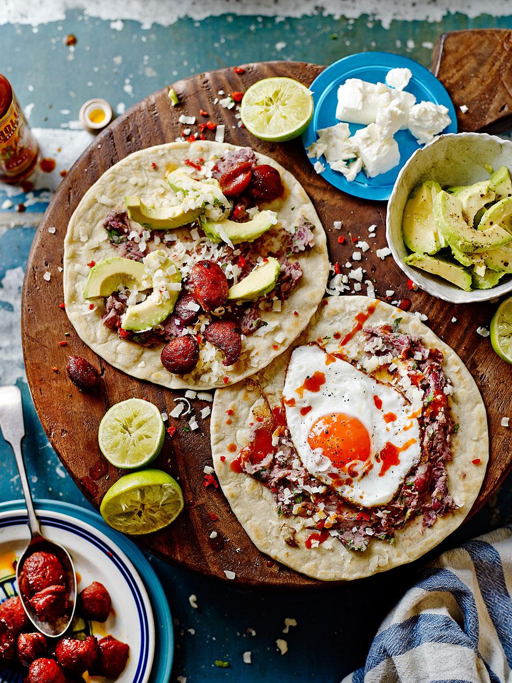 Honduras spicy chorizo bean beleadas jamie oliver - Cuisine jamie oliver ...