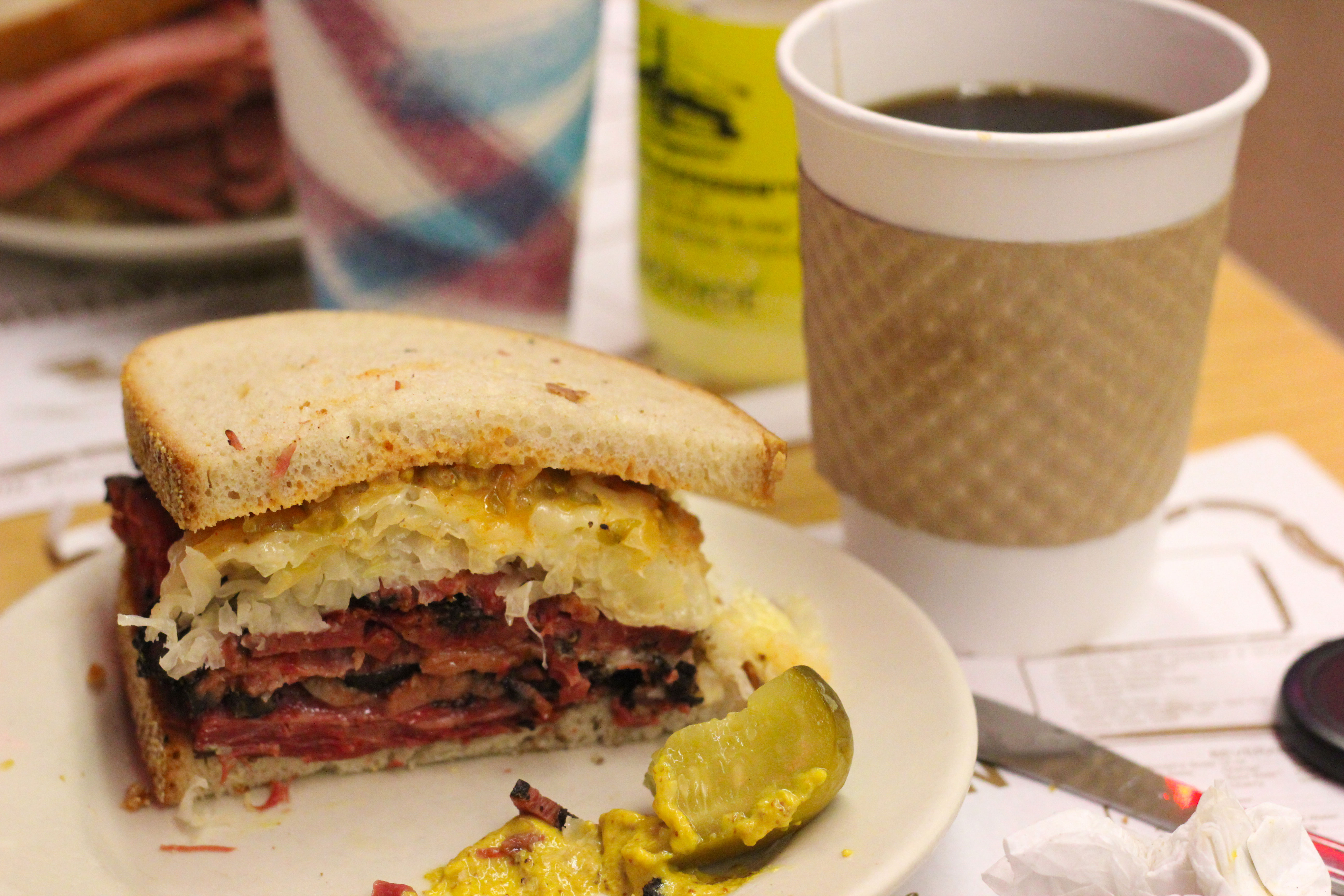 reuben-and-coffee