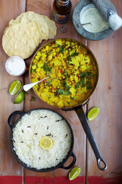 vegetarian recipes curry