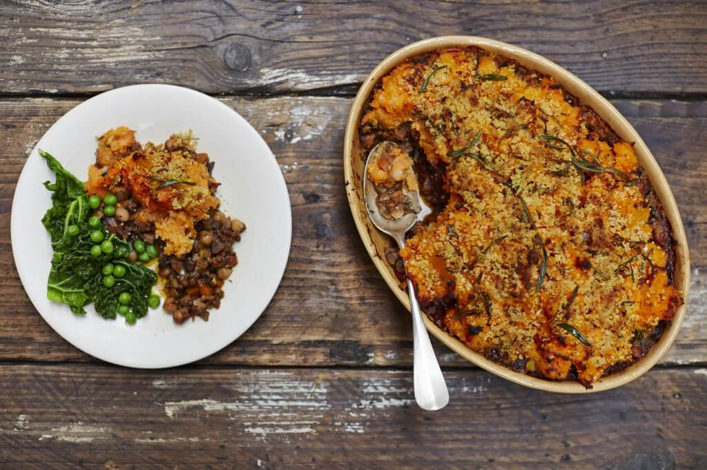 vegan recipes shepherd's pie