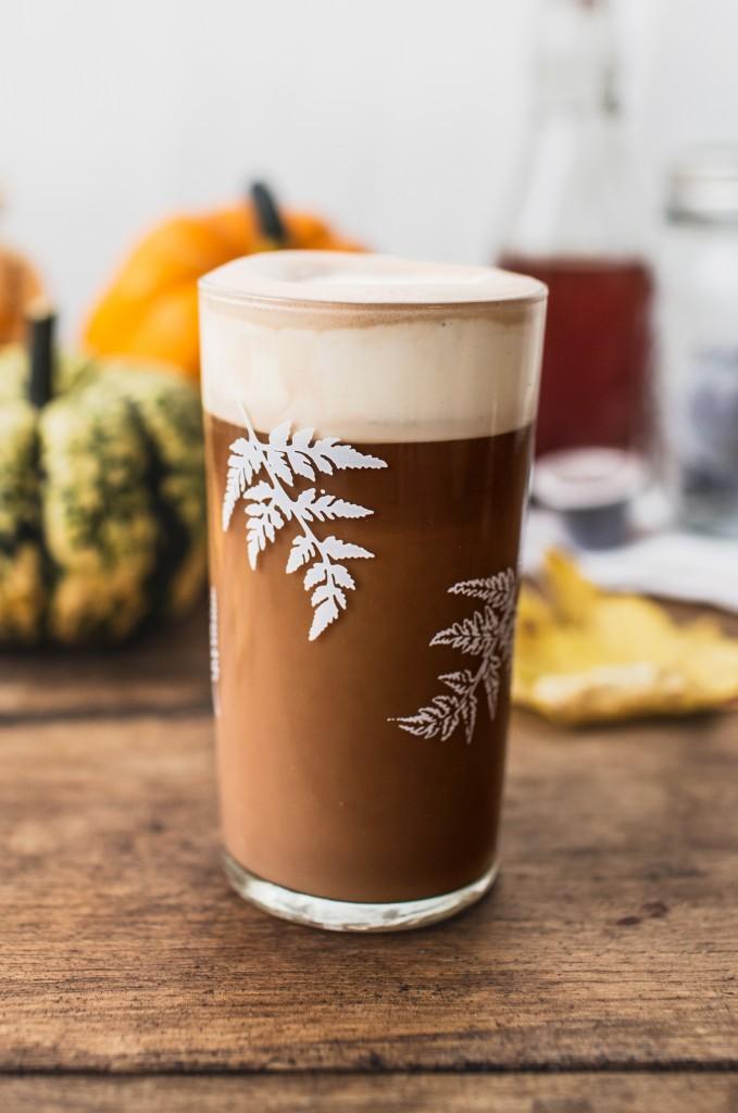 a recipe for homemade pumpkin spice latte jamie oliver features. Black Bedroom Furniture Sets. Home Design Ideas