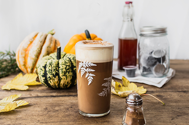 spiced pumpkin latte